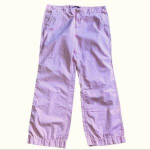 Gap 14 pink wide leg chino pants